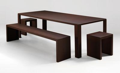 tabouret rusty irony m tal rouille zeus. Black Bedroom Furniture Sets. Home Design Ideas