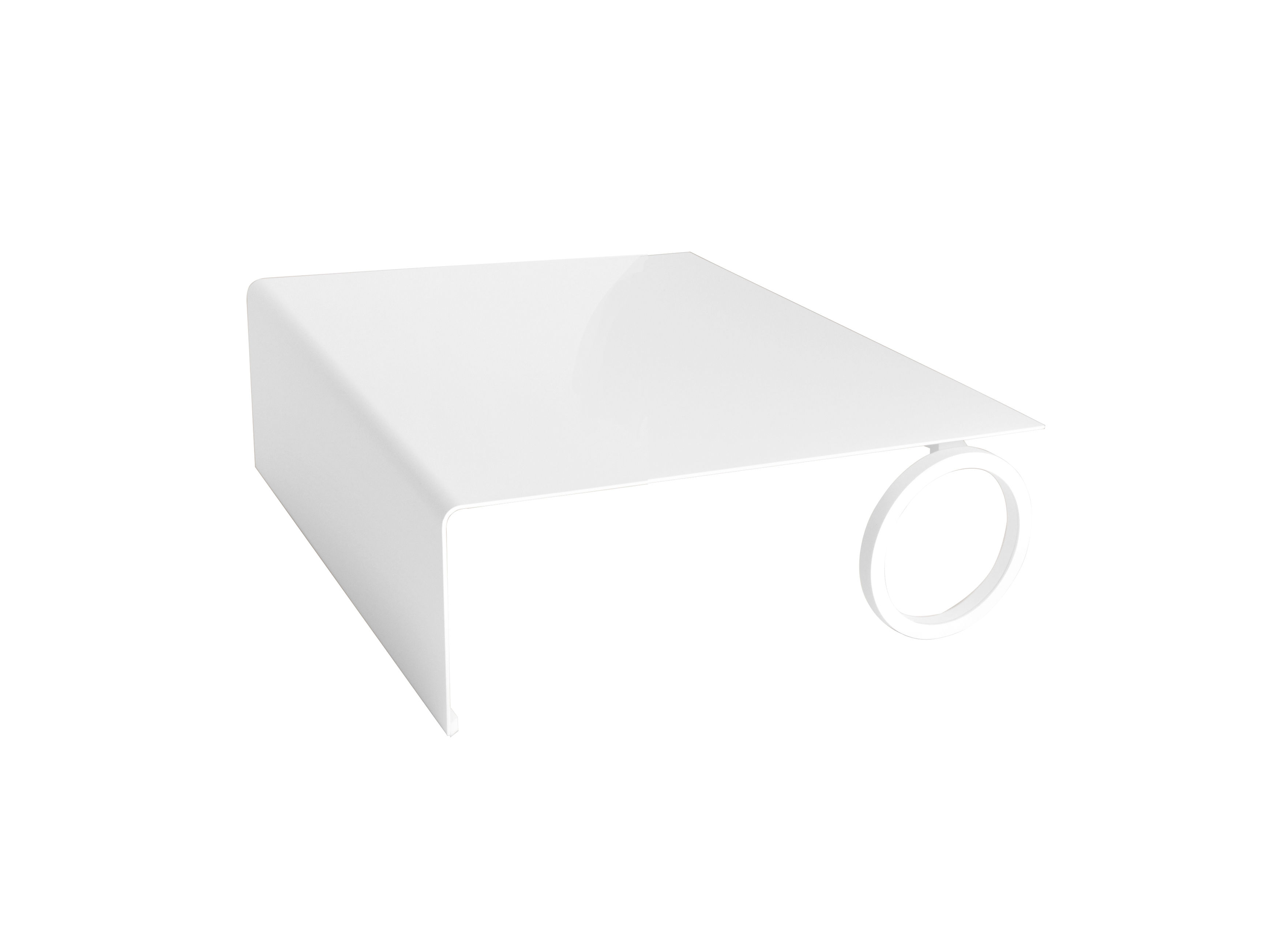 Rota coffee table 120 x 80 cm 120 x 80 cm white by for Coffee table 80 x 80