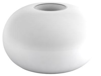 Foto Sgabello Faituttotu - Grosso modulo impilabile per piede di sgabello - h 34 cm di Serralunga - Bianco - Materiale plastico