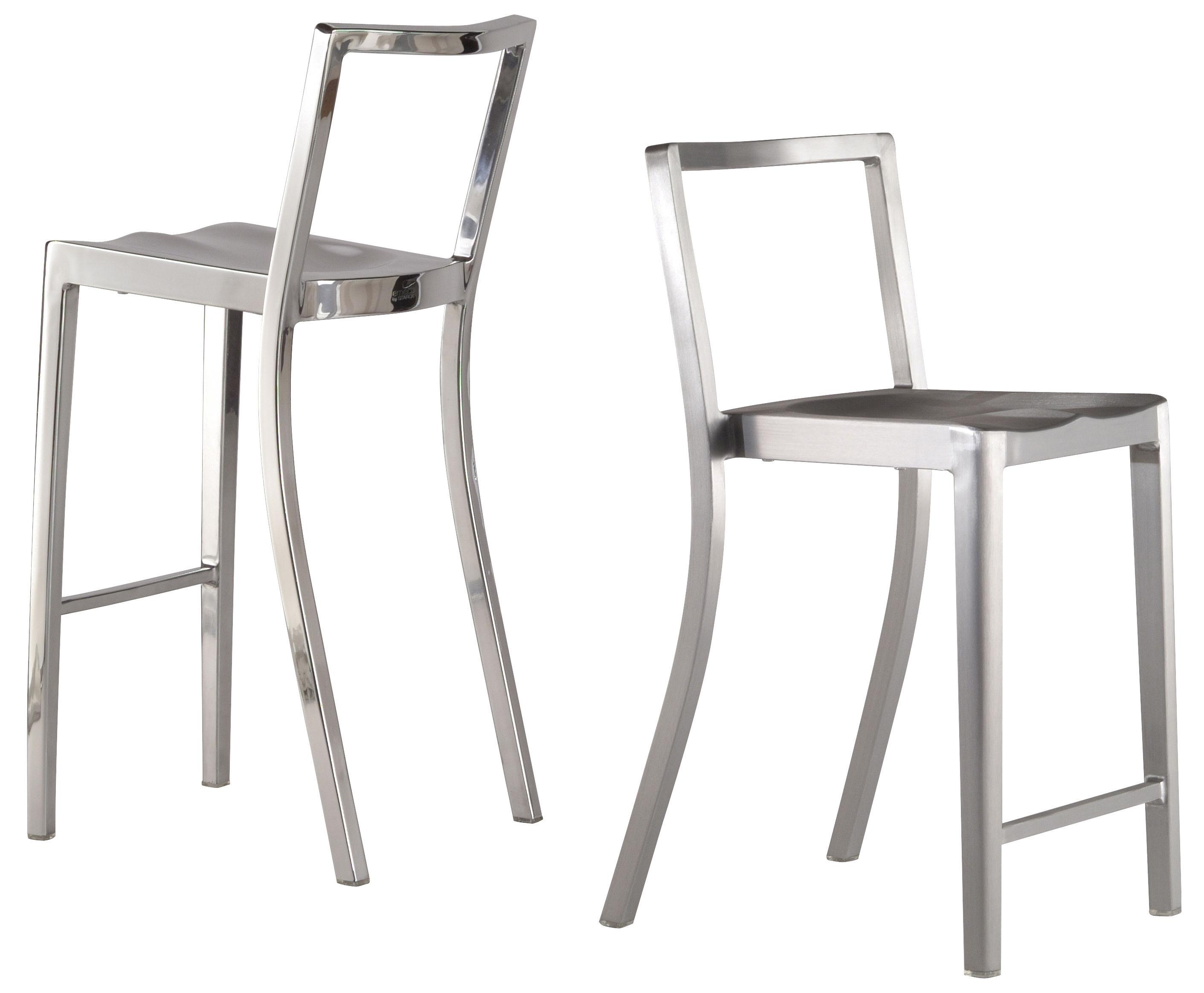 Chaise De Bar Icon Stool H 75 Cm M 233 Tal Aluminium Mat