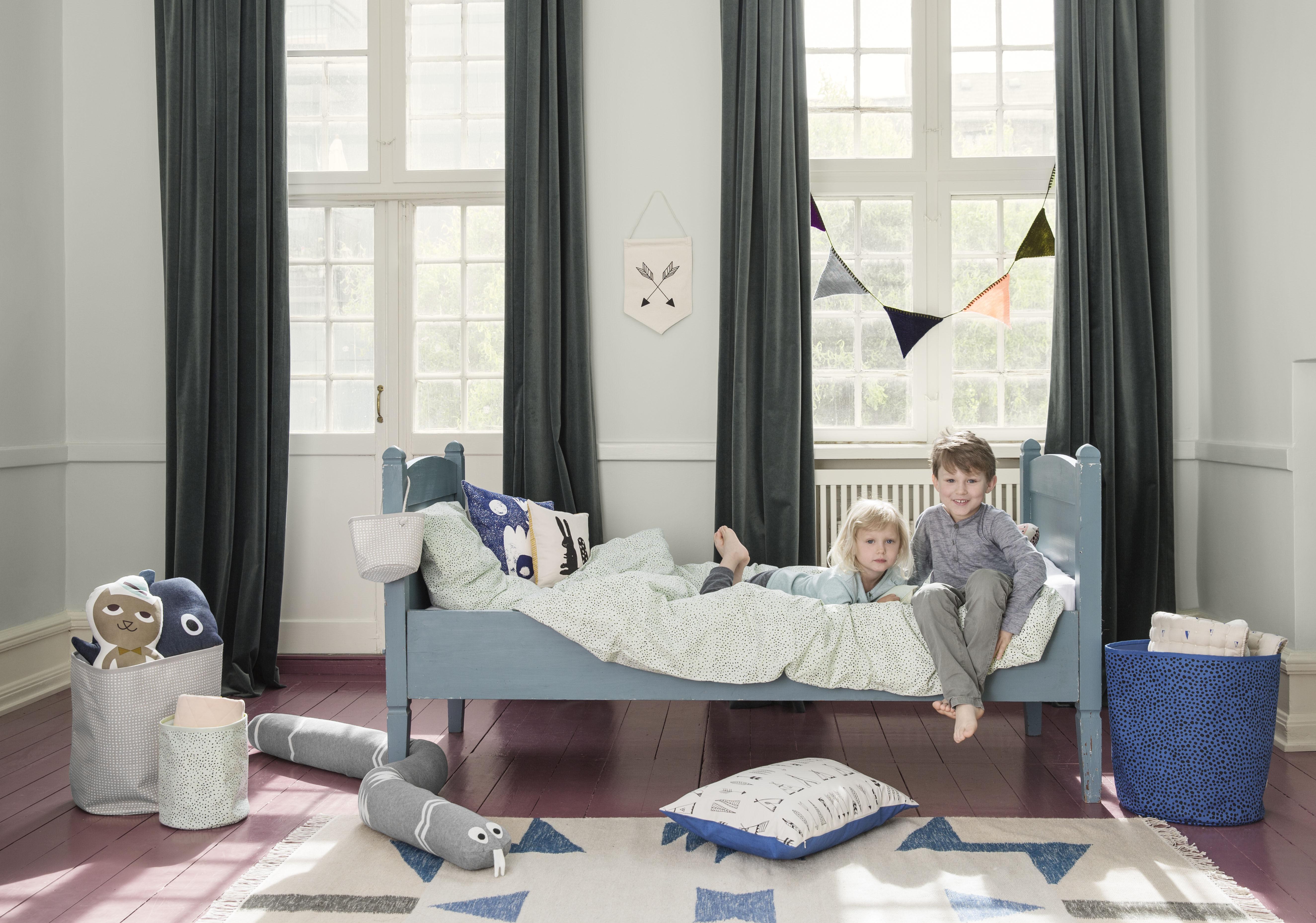 kelim blue triangles rug 200 x 140 cm 200 x 140 cm. Black Bedroom Furniture Sets. Home Design Ideas