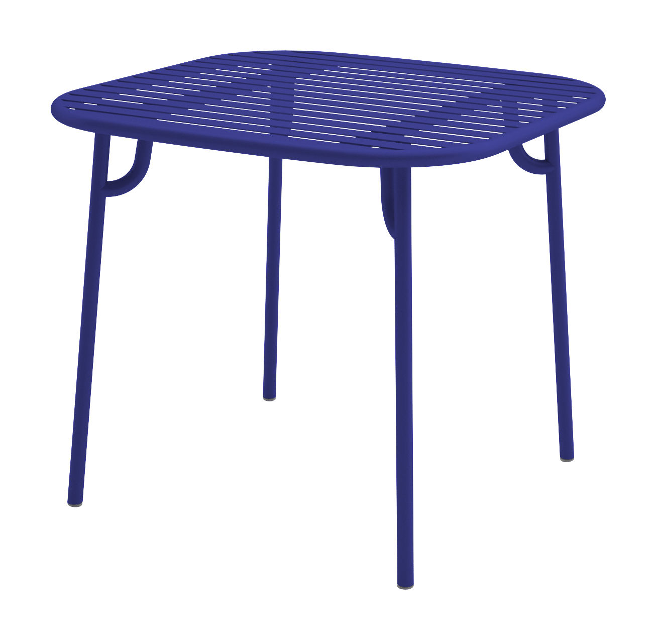 week end table 85x85 cm navy blue by oxyo. Black Bedroom Furniture Sets. Home Design Ideas
