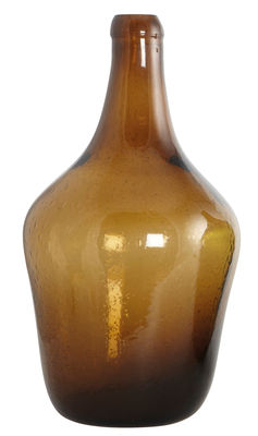 Déco - Vases - Soliflore Bottle / Ø 23 x H 41 cm - House Doctor - Marron - Verre soufflé bouche