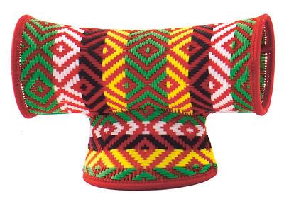 Foto Sgabello M'Afrique - Touti di Moroso - Rosso - Materiale plastico