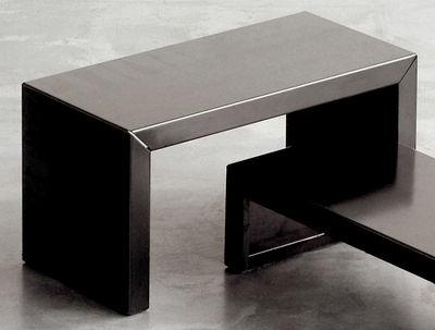 Mobilier - Tables basses - Table basse Small Irony - Zeus - L 68 x H 35 cm - Acier phosphaté
