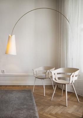 Coussin d 39 assise pour fauteuil wick feutre beige design house stockholm for House pour fauteuil