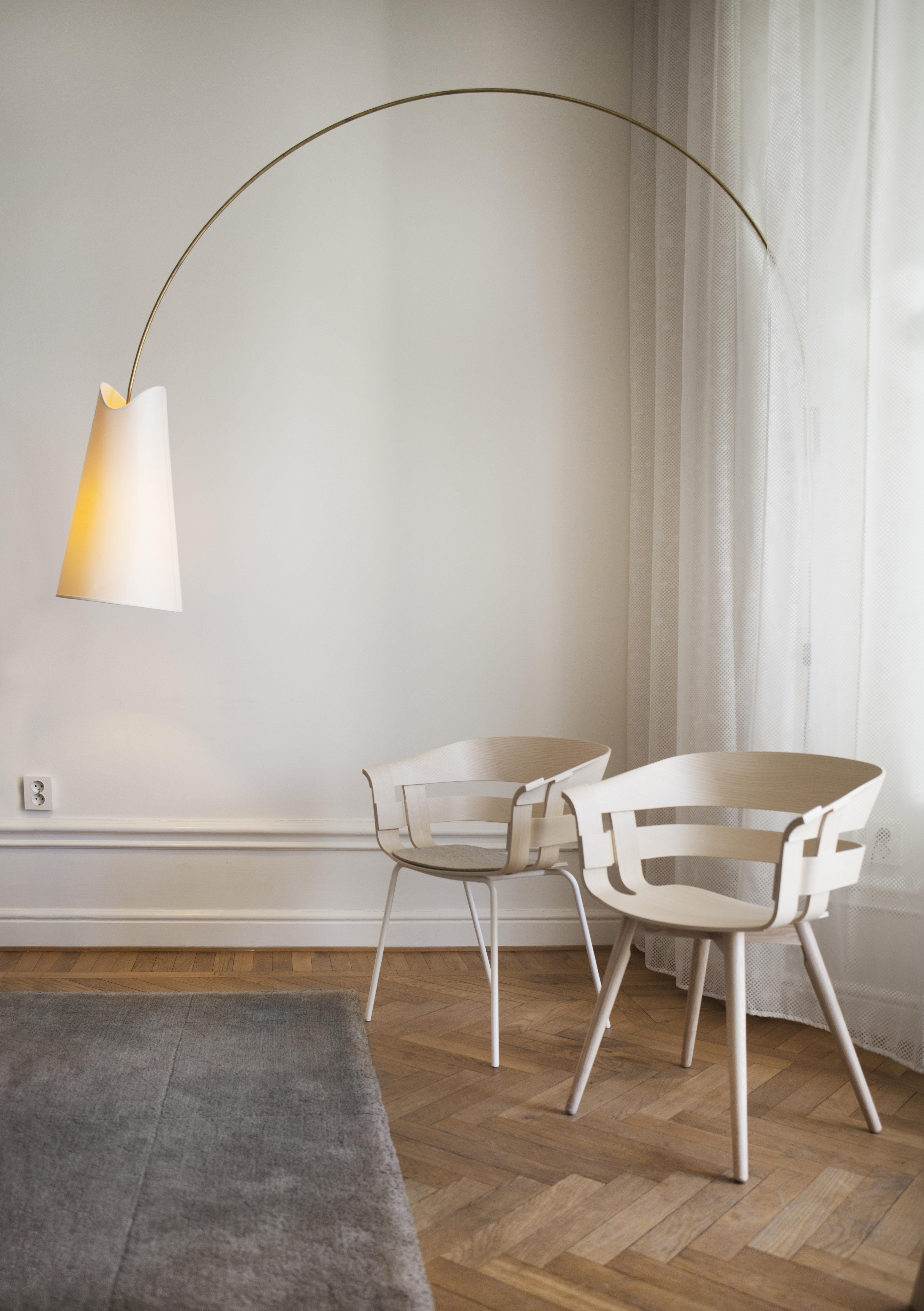 F r armlehnstuhl wick filz design house stockholm for Armlehnstuhl design