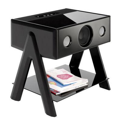 Enceinte Bluetooth Cube Thruster 2.1 La Boîte Concept noir en bois