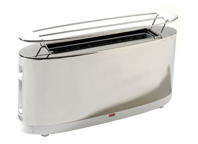 Toaster by Alessi - Steel - Stainless steel