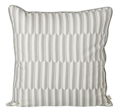 Coussin Arch / 50 x 50 cm - Ferm Living gris,blanc cassé en tissu