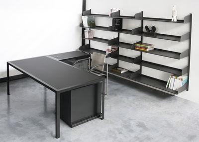 Scrivania Ufficio Nera : Scopri scrivania tavolo office set scrivania tavolo con