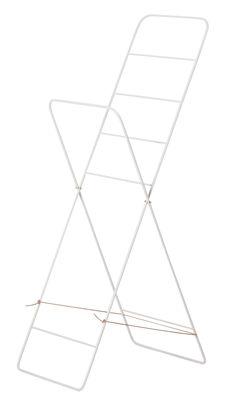Porte-serviettes Herman / Etendage à linge - Pliant - Ferm Living gris clair en métal