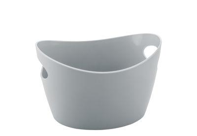 Accessoires - Accessoires salle de bains - Corbeille Bottichelli XXS / L 12 x H 7 cm - Koziol - Gris clair - Polypropylène