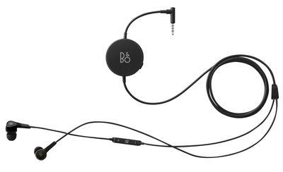 Fête des pères - Objets connectés - Ecouteurs BeoPlay H3 Anc / Intra-auriculaires - Réduction active de bruit - B&O PLAY by Bang & Olufsen - Noir - Acier inoxydable, Caoutchouc, Polymère