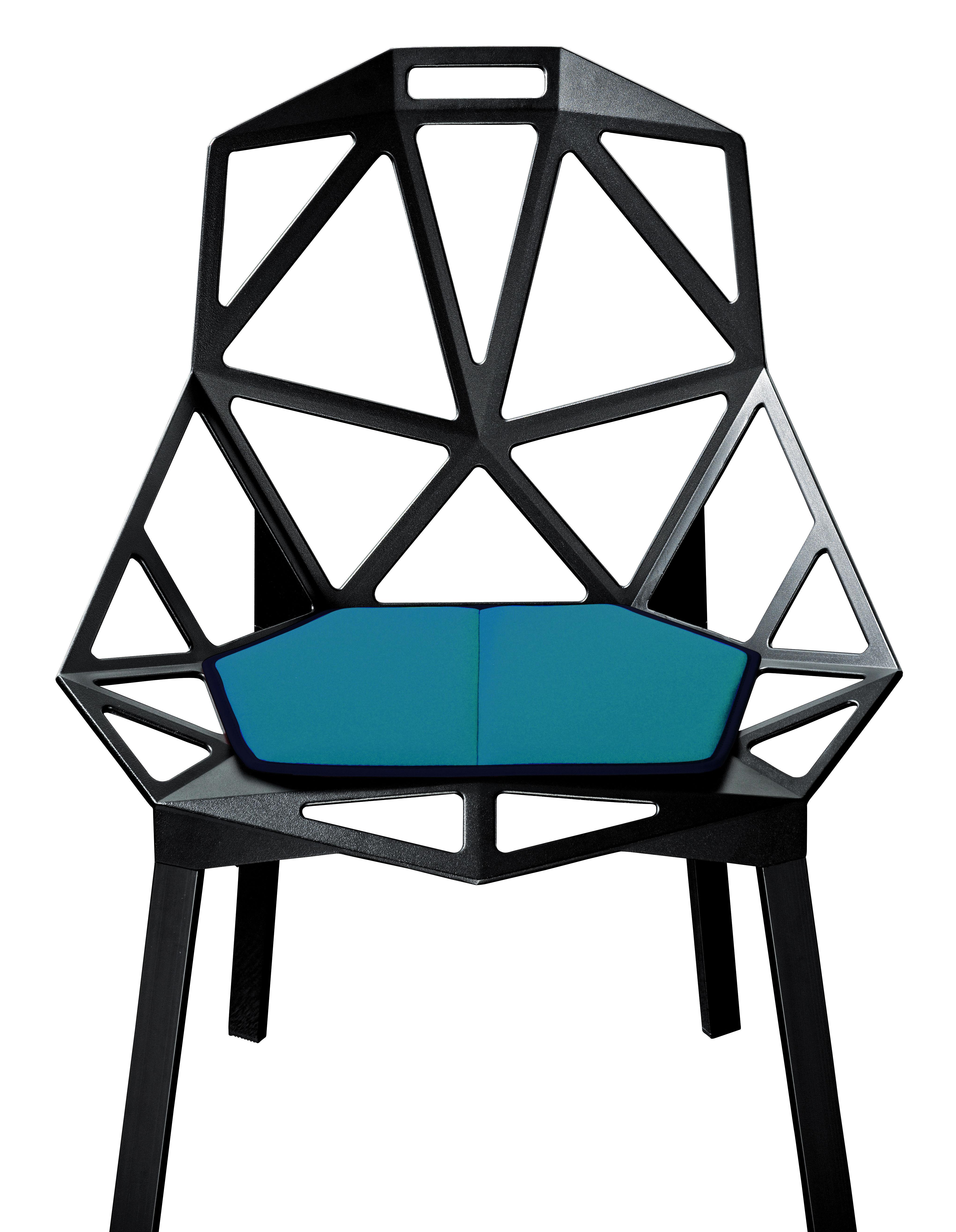 coussin d 39 assise pour chair one bleu ciel magis. Black Bedroom Furniture Sets. Home Design Ideas