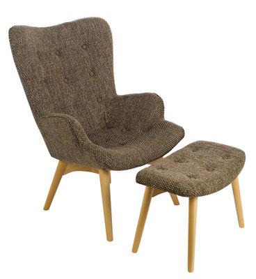 Joan Gepolsterter Sessel / mit Fußablage - Pols Potten