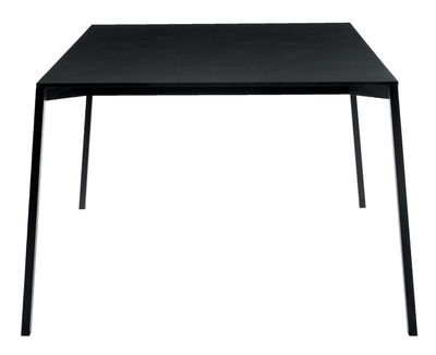 Outdoor - Garden Tables - One Garden table - Black by Magis - Black - 220 x 100 cm - HPL, Varnished aluminium