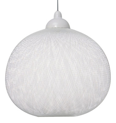 Lighting - Suspensions - Non Random Light Pendant by Moooi - White - Fibreglass