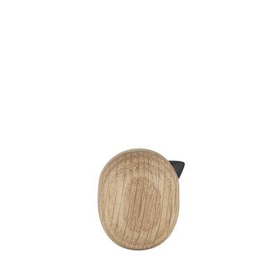 Déco - Objets déco et cadres-photos - Figurine Little Bird / H 3 x Ø 2,5 cm - Normann Copenhagen - Chêne - Chêne massif tourné