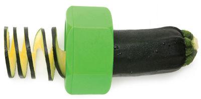 Taille légume Cucumbo Pour concombre et courgette Pa Design vert en matière plastique