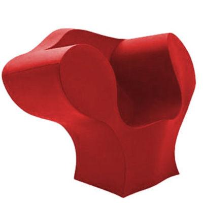 Poltrona The Big Easy di Moroso - Rosso - Materiale plastico