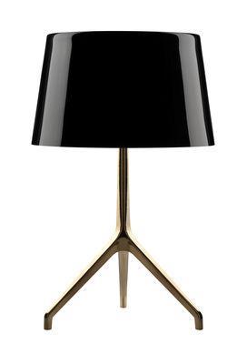 Lumi re xxs table lamp black bronze base by foscarini - Foscarini lumiere table lamp ...