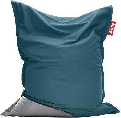 housse jacket pour pouf the original bleu aquamarine fatboy. Black Bedroom Furniture Sets. Home Design Ideas