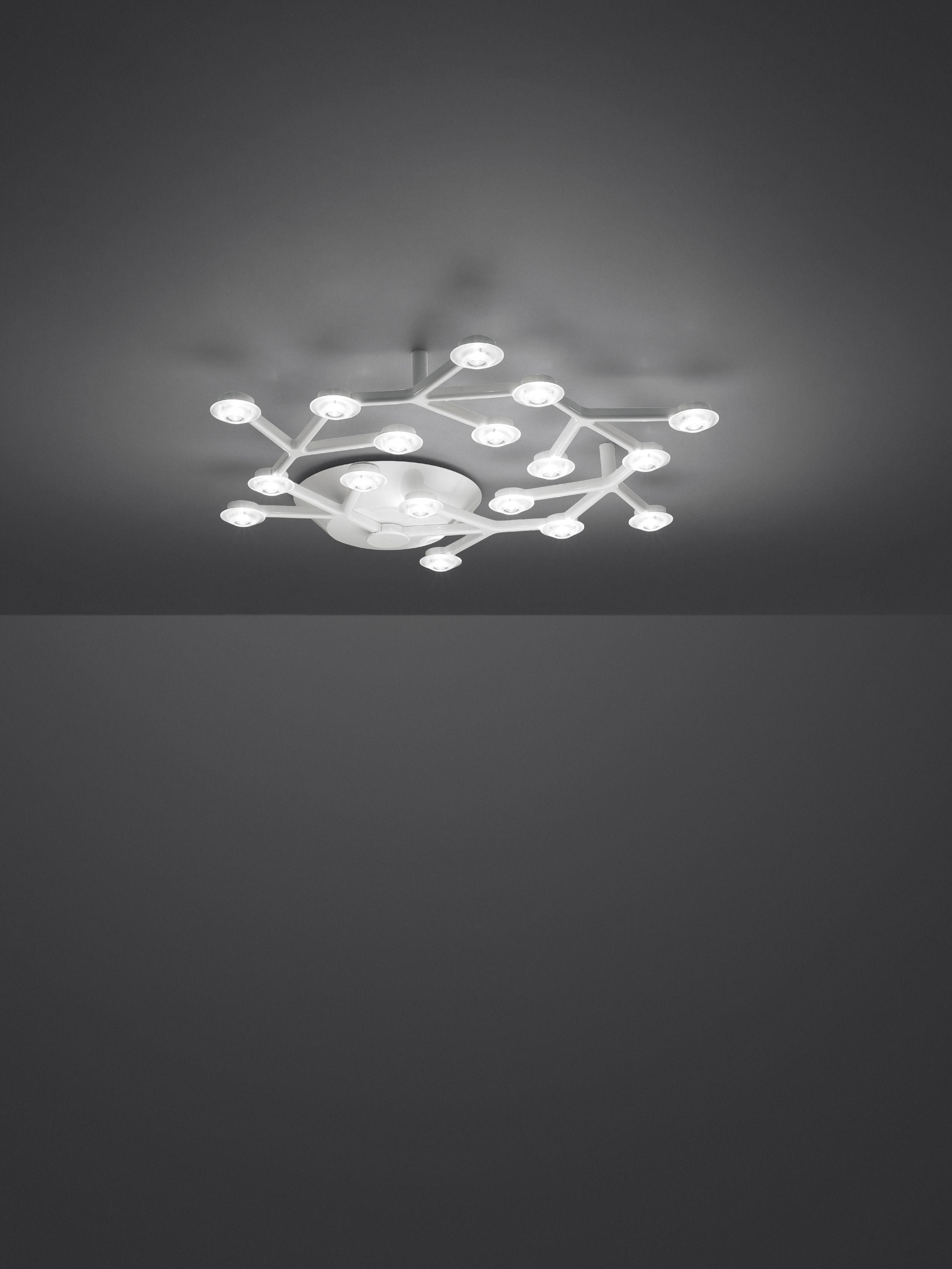 Scopri Plafoniera LED NET -circolare - Ø 65 cm di Artemide, Made ...