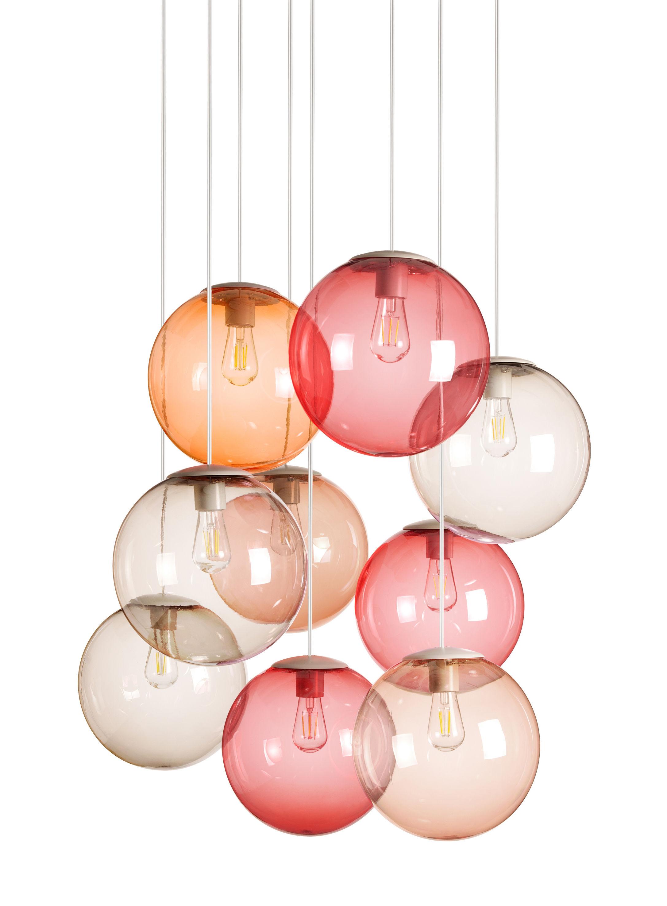 spheremaker set mit 9 lampen fatboy pendelleuchte. Black Bedroom Furniture Sets. Home Design Ideas