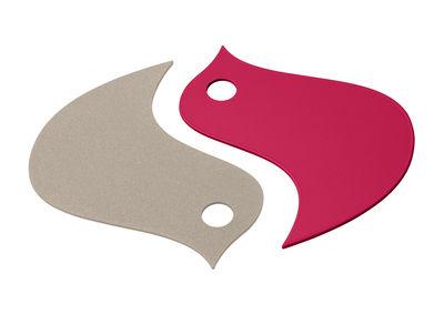 Dessous de plat Oiseaux / Métal - Fermob muscade,rose praline en métal