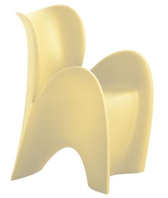 Poltrona Lily Small di MyYour - Avorio opaco - Materiale plastico