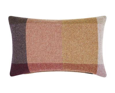 Coussin Check / Laine - 60 x 40 cm - Tom Dixon multicolore en tissu
