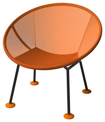Poltrona Take Off di Skitsch - Arancione - Tessuto