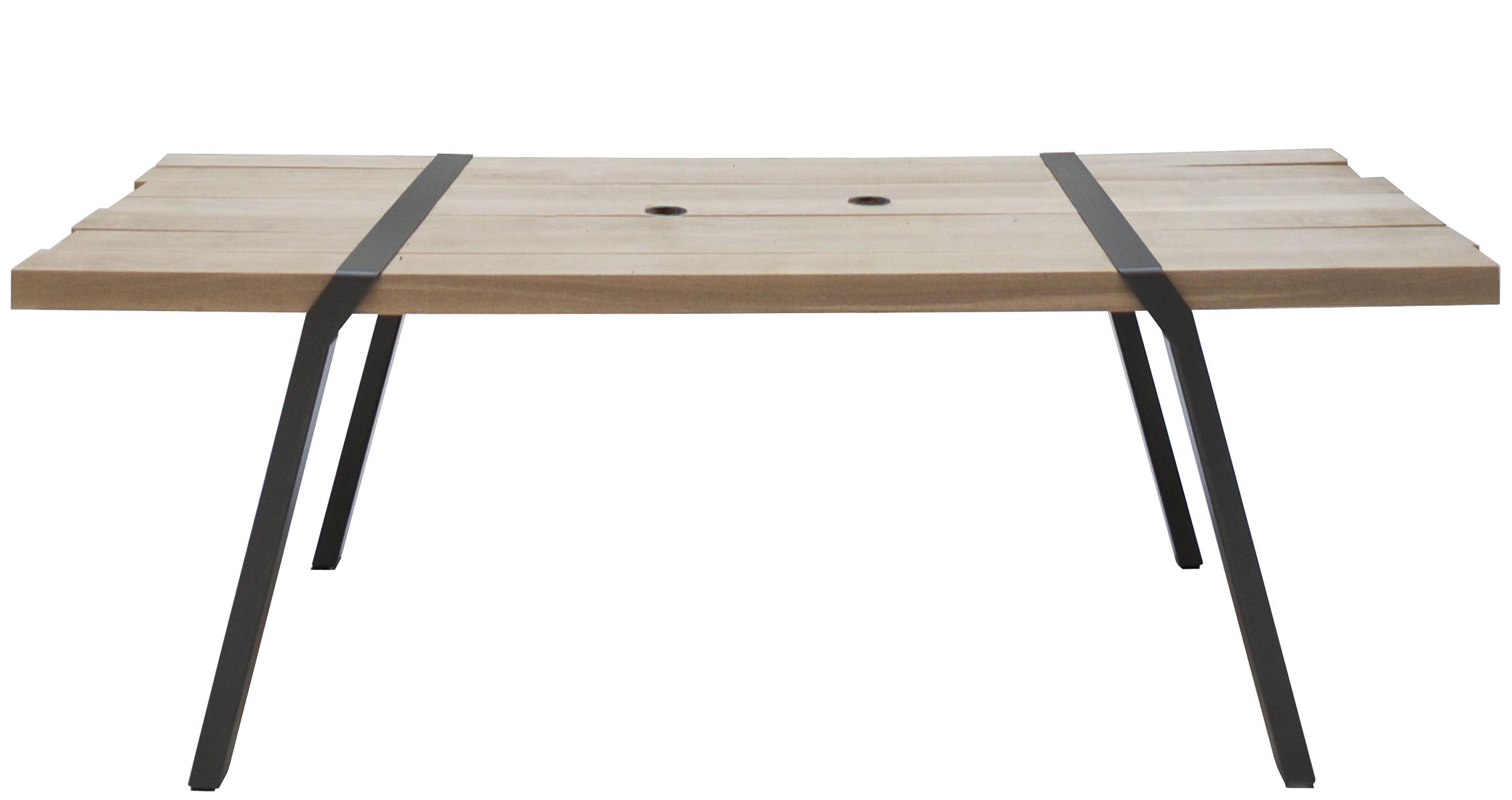 Pi tavolo da giardino interno esterno canna di fucile by for Tavoli di design da esterno