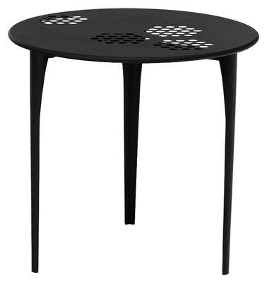 Pattern Tisch Ø 80 cm - Emu - Schwarz