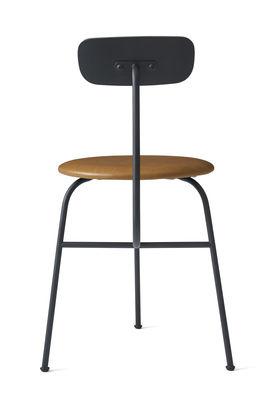 afteroom gepolsterter stuhl gepolsterte sitzfl che mit lederbezug schwarz sitzfl che leder. Black Bedroom Furniture Sets. Home Design Ideas