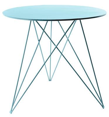 Sticchite Tisch / Metall - Ø 75 cm x H 70 cm - Serax - Hellblau