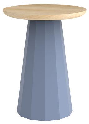 Foto Sgabello Ankara / H 45 cm - Metallo - Matière Grise - Blu piccione - Metallo
