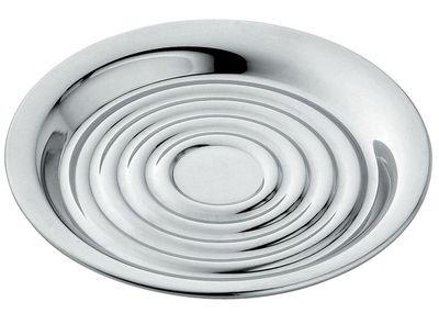 Dessous de verre Memories from the future / Lot de 4 - Alessi acier brillant en métal