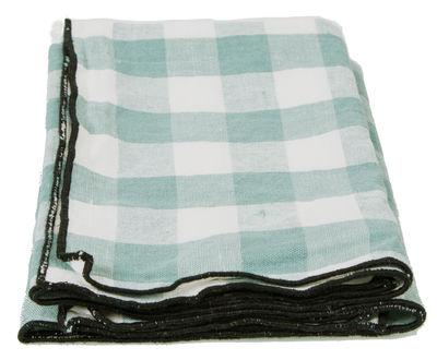 Serviette de table Toile Mimi / 45 x 45 cm - Maison de Vacances vert d´eau en tissu