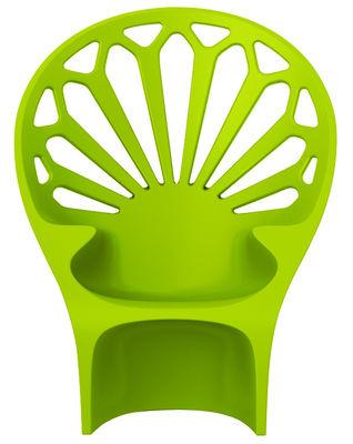 Poltrona Altesse di Qui est Paul ? - Verde - Materiale plastico