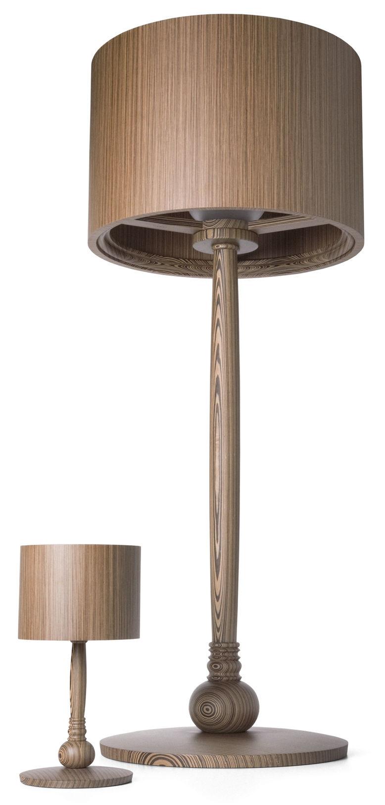 lampe de table tree lamp ch ne teint jaune moooi. Black Bedroom Furniture Sets. Home Design Ideas