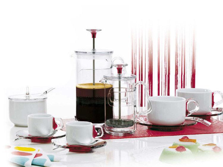 cafeti re piston in fusion pour caf et th 8 tasses. Black Bedroom Furniture Sets. Home Design Ideas
