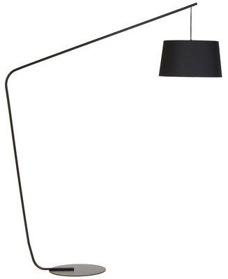 Foto Lampada a stelo Lobby - / H 182 cm di Frandsen - Nero - Metallo