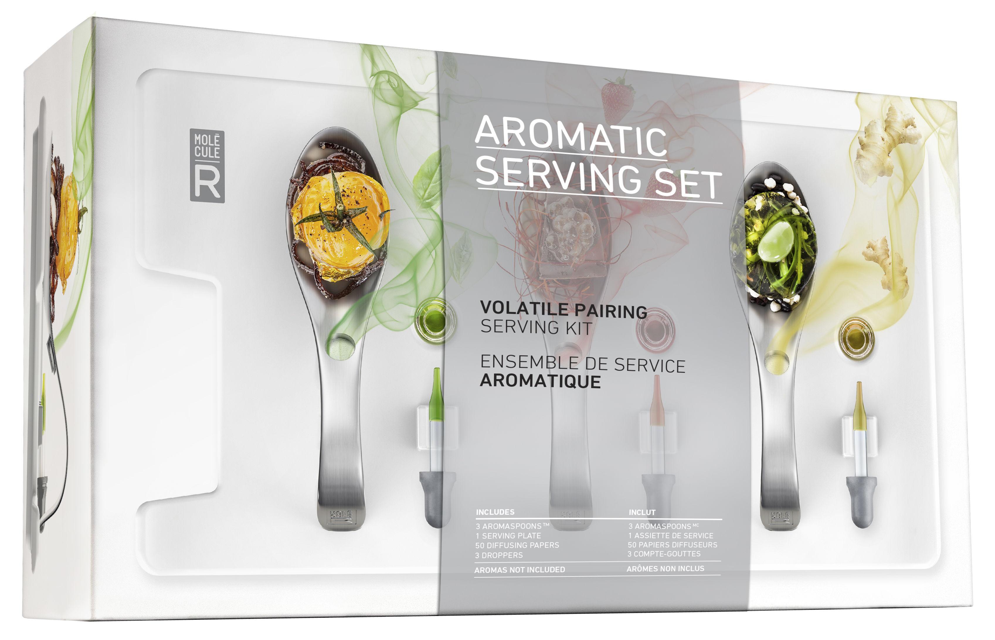 Kit cuisine mol culaire service aromatique aromaspoons - Cuisine moleculaire kit ...