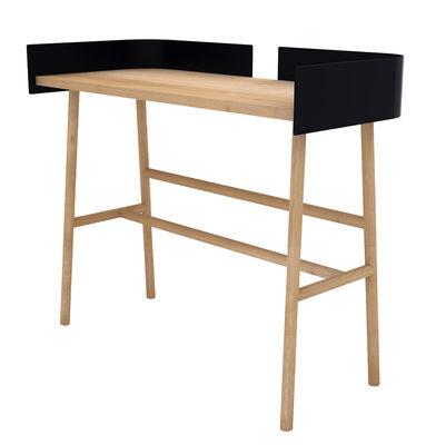 b desk l 100 cm holz metall universo positivo schreibtisch. Black Bedroom Furniture Sets. Home Design Ideas