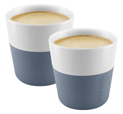 Tasse à espresso Set de 2 80 ml Eva Solo blanc,bleu acier en céramique