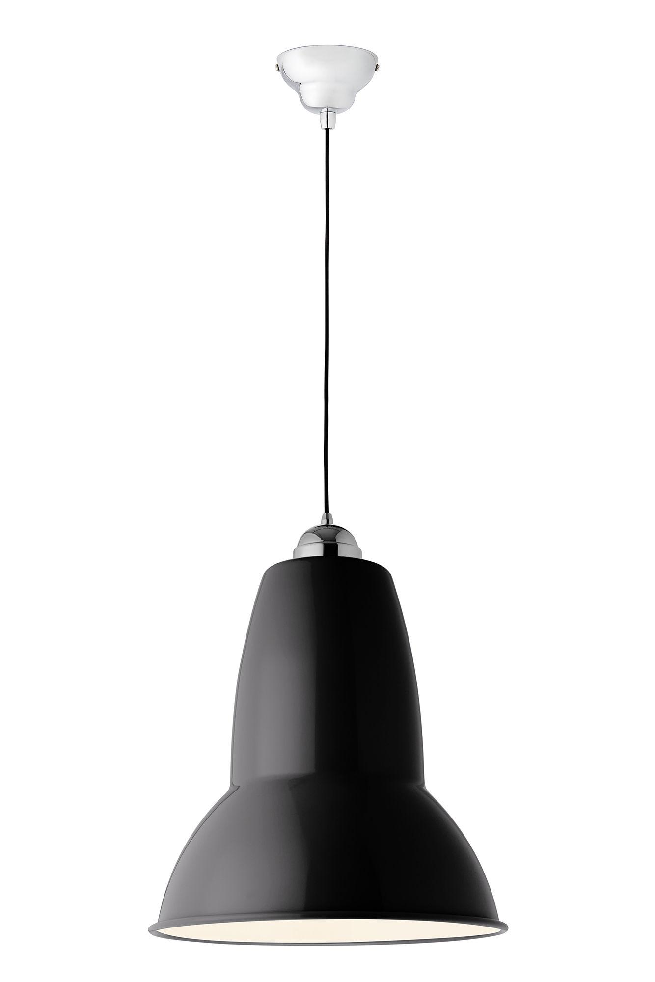 Suspension giant 1227 h 56 5 cm noir anglepoise - Luminaire industriel la giant collection par anglepoise ...