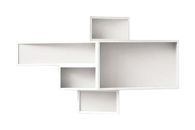 Etagère SheLLf /Petit modèle Uni - Kristalia blanc uni en matière plastique