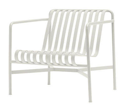 Palissade Lounge Sessel / mit niedriger Rückenlehne - R & E Bouroullec - Hay - Cremeweiß